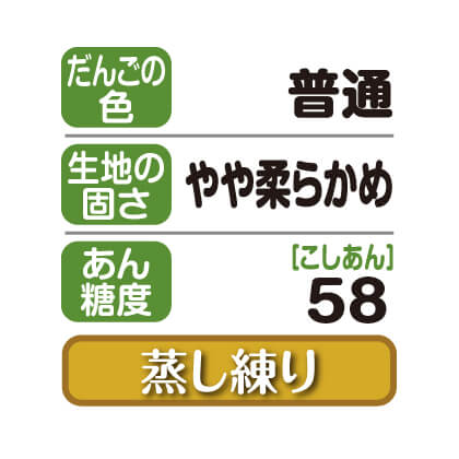 笹だんご(こしあん)