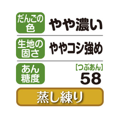 笹だんご(つぶあん)