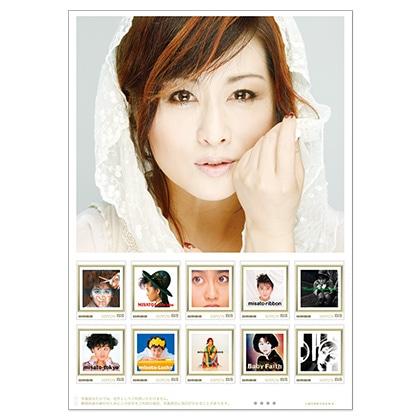 デビュー35周年記念「渡辺美里」フレーム切手セット