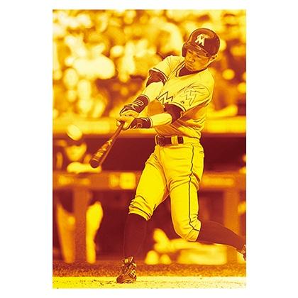 イチロー引退メモリアル  特製ハードカバーホルダー付純金プレート MLB3,000本安打 Ver.