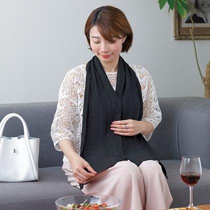Table with プリーツタイプ(ブラック)