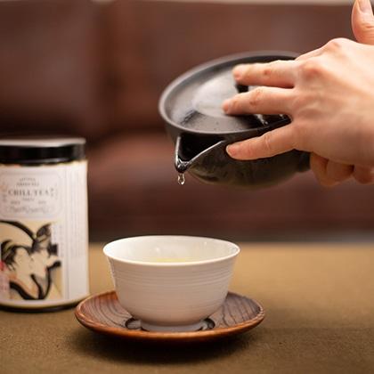 天空の幻のお茶 かぶせ茶ヒカリ
