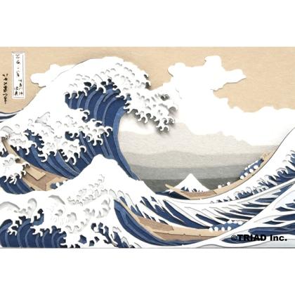 OMOSHIROI BLOCK|SCENERY|冨嶽三十六景 神奈川沖浪裏