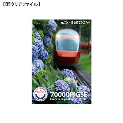 小田急ロマンスカー70000形GSEブルーリボン賞受賞記念