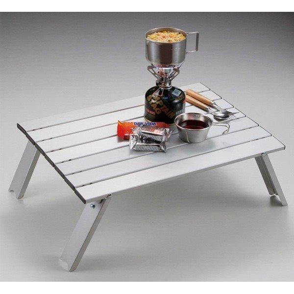 キャプテンスタッグ ロースタイル アルミロールテーブル UC-501 ソロキャンプ テーブル