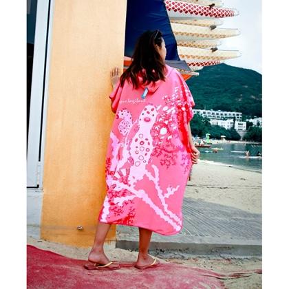 【OCEANARIUM】お着替えポンチョ(タツノオトシゴ) T17 PYGMY SEAHORSE CLOAK TOWEL 85cm x 105cm