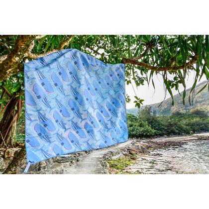 【OCEANARIUM】ドライタオル T12 Whaleshark monogram dry towel 80cm x 140cm