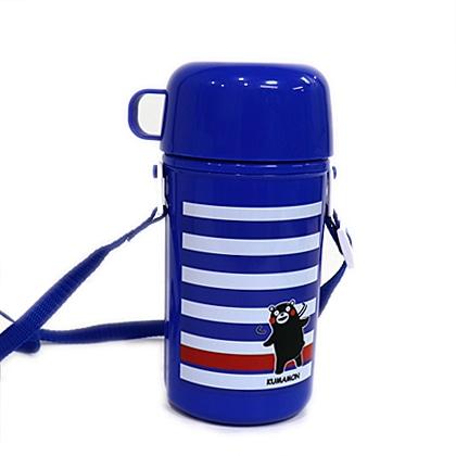 くまモン2WAY水筒 ブルー