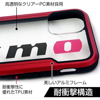 nismo ビックロゴクリアバックカバーケース for iPhone12 mini [NM-P20S-PC1 RD]