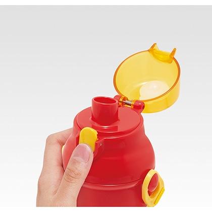 抗菌食洗機対応直飲プラワンタッチボトル バーガーコンクス(ポテト)