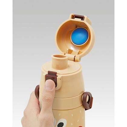 超軽量ダイレクトステンレスボトル470ml バーガーコンクス(バーガー)