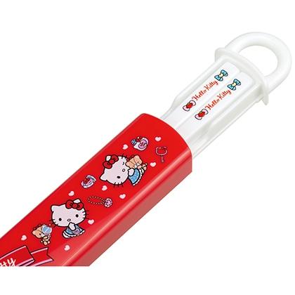 抗菌スライド式箸箱セット ハローキティ おしゃれガール