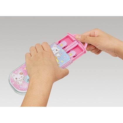 抗菌食洗機対応スライド式トリオセット ミュークルドリーミー おともだち