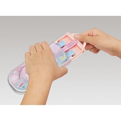 抗菌食洗機対応スライド式トリオセット リトルツインスターズ マジカルピクニック