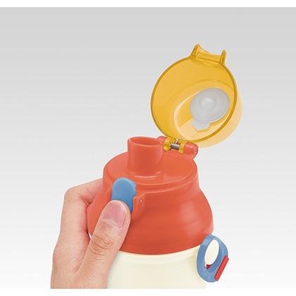 抗菌食洗機対応直飲プラワンタッチボトル PEANUTS/レトロシリーズ(ハウス)