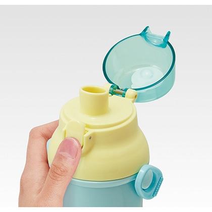 抗菌食洗機対応直飲プラワンタッチボトル クレヨンしんちゃん 21