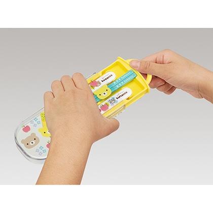 抗菌食洗機対応スライド式トリオセット くまっこ