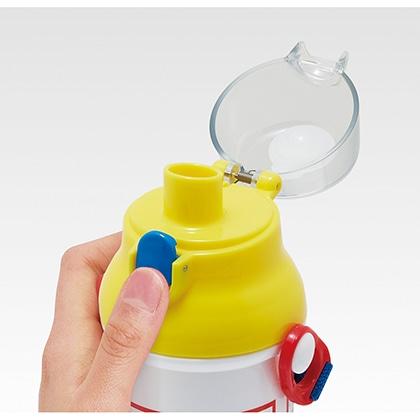 抗菌食洗機対応直飲プラワンタッチボトル トミカ21