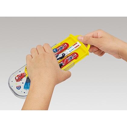 抗菌食洗機対応スライド式トリオセット トミカ21