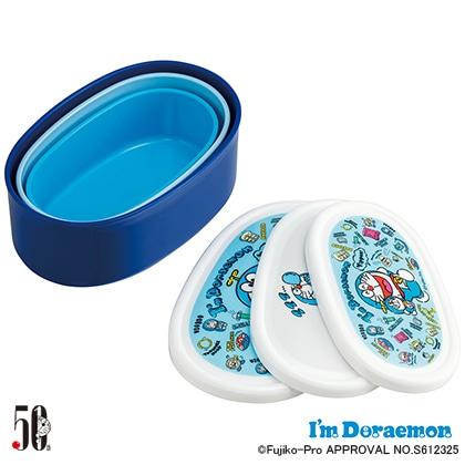 抗菌シール容器3Pセット I'm Doraemon ぬいぐるみいっぱい