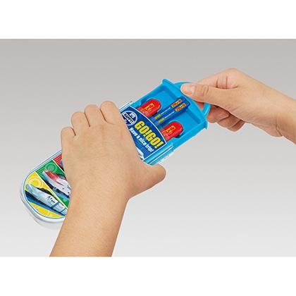 抗菌食洗機対応スライド式トリオセット プラレール21