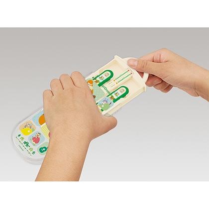 抗菌食洗機対応スライド式トリオセット どうぶつの森 21