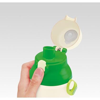 抗菌食洗機対応直飲プラワンタッチボトル どうぶつの森 21