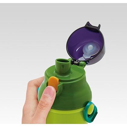 抗菌食洗機対応直飲プラワンタッチボトル DINOSAURS