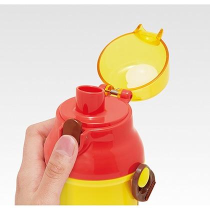 抗菌食洗機対応直飲プラワンタッチボトル ピカチュウ フェイス21 PSB5SANAG