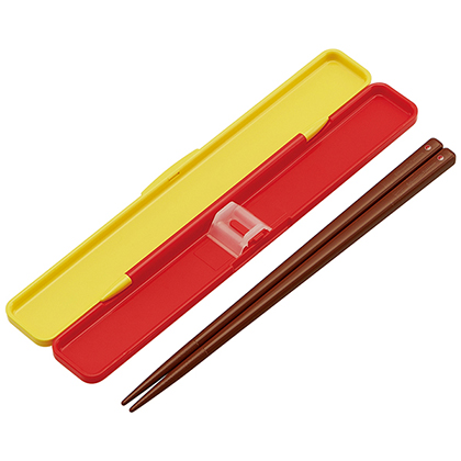 抗菌音の鳴らない箸・箸箱セット 箸18cm ピカチュウ フェイス21 ABC3AG