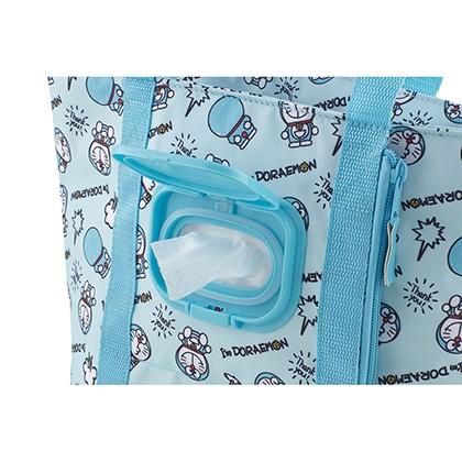 ウェットティッシュポケット付ランチバッグ I'm Doraemon KCLBP1