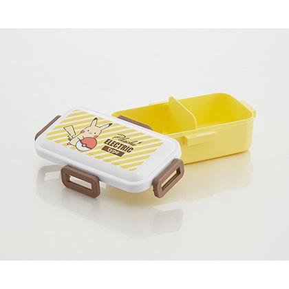 抗菌食洗機対応ふわっと弁当箱 ピカチュウ エレクトリックタイプ PFLB6AG