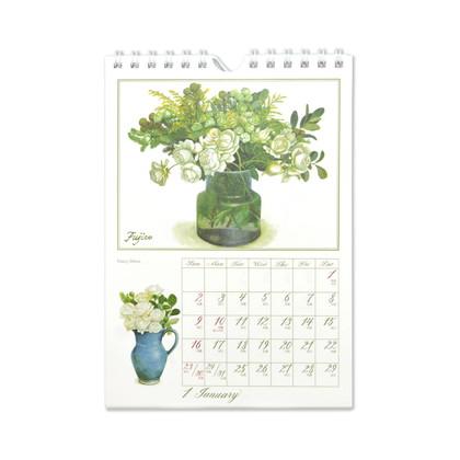 CAL−051  2022年版カレンダー 橋本不二子 Roses S