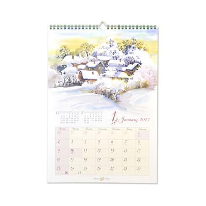 CAL−058  2022年版カレンダー スイートホーム L
