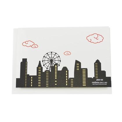 JXCD−122シルク印刷クリスマスカード JAPAN