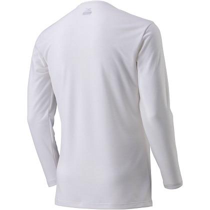 ブレスサーモアンダーウェア  Vネック長袖シャツ [メンズ] オフホワイト ・ L
