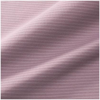 ドライベクターハーフジップ半袖シャツ[レディース] ピンクベージュ・L