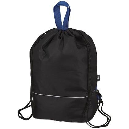 プールバッグ(10L) ブラック×ブルー