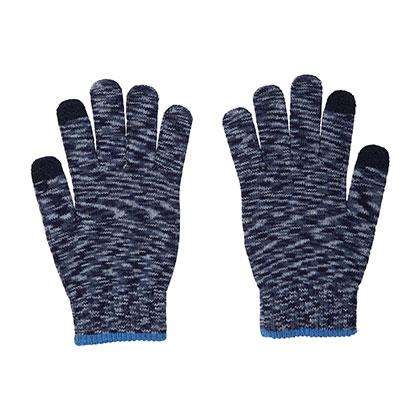 手袋(タッチパネル対応) [ユニセックス] ネイビー
