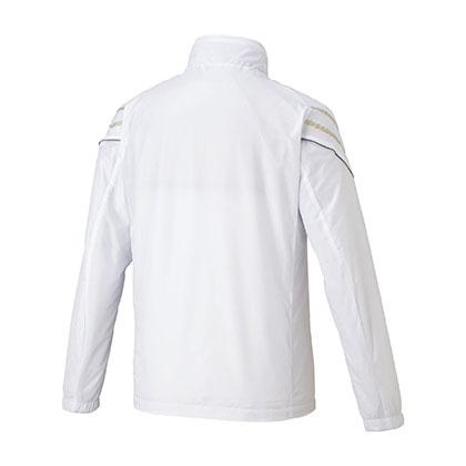 ブレスサーモウォーマージャケット[ユニセックス] ホワイト ・ 2XL