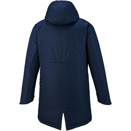 中綿ブレスサーモミドル丈コート[ユニセックス]ネイビー・2XL