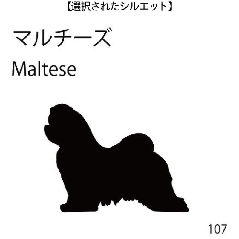 お名前スタンプ マルチーズ(107)
