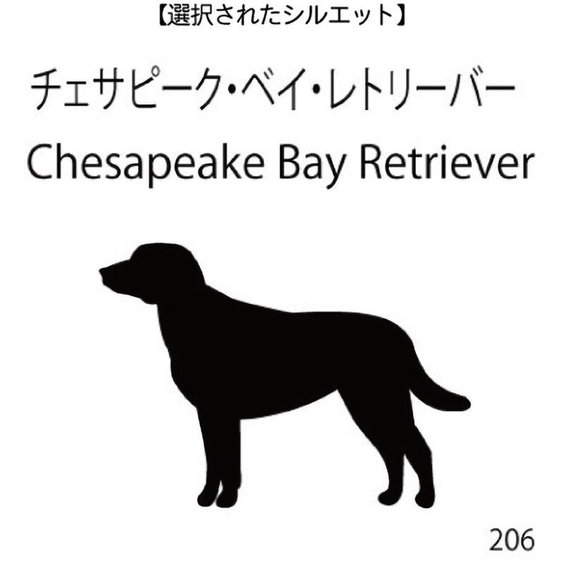 お名前スタンプ チェサピーク・ベイ・レトリーバー(206)