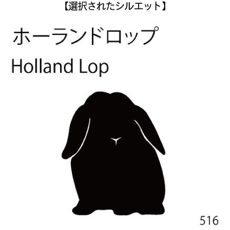 お名前スタンプ ホーランドロップ(516)