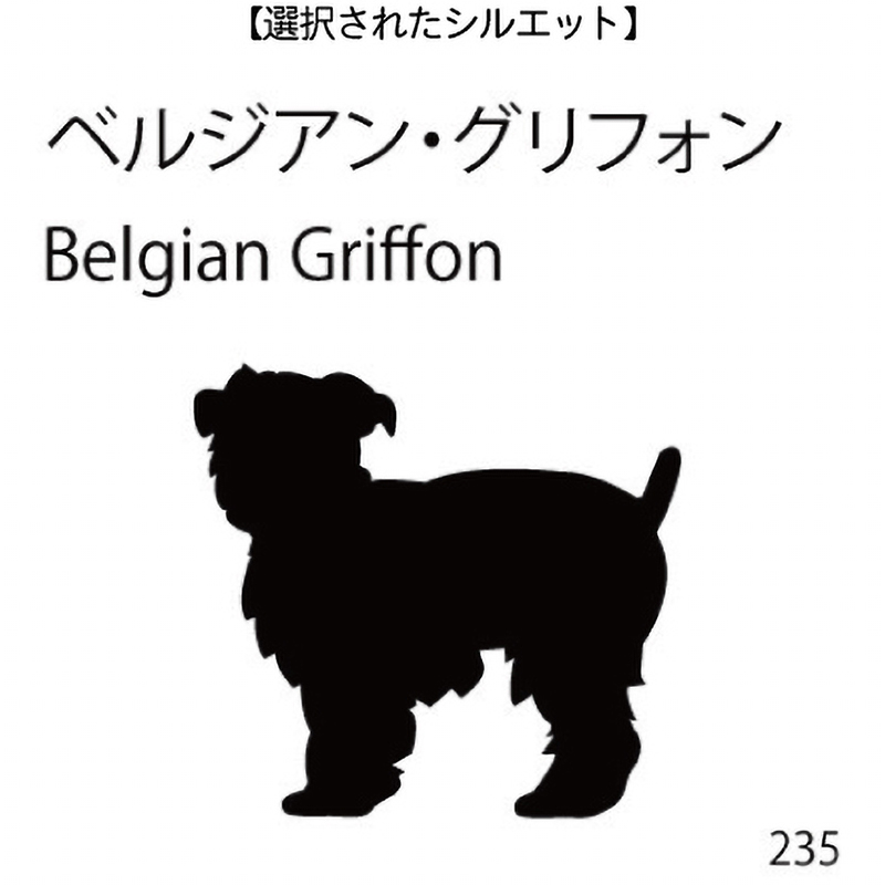 ドアオープナー ベルジアン・グリフォン(235)