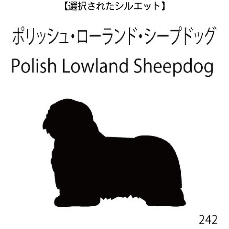 ドアオープナー ポリッシュ・ローランド・シープドッグ(242)