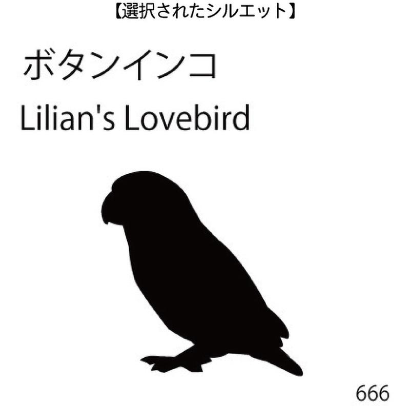 ドアオープナー ボタンインコ(666)