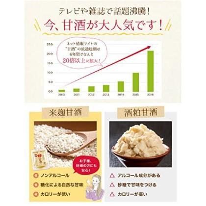 有機玄米あまざけ150g×5個 hana-009