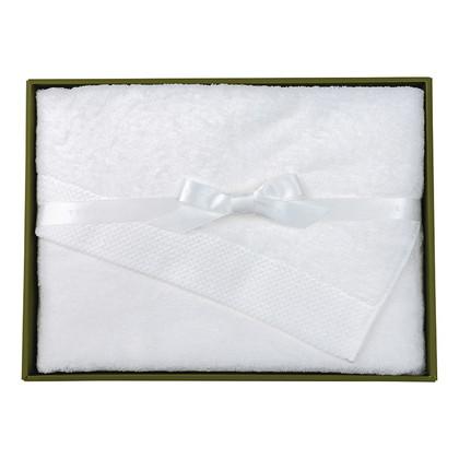 テネリータ 軽やかな甘撚りバスタオル ホワイト