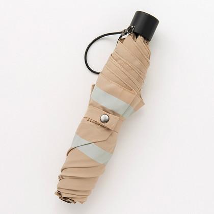 アーバンリサーチ 晴雨兼用折りたたみ傘 ベージュ